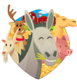 Burros do Magoito Logo